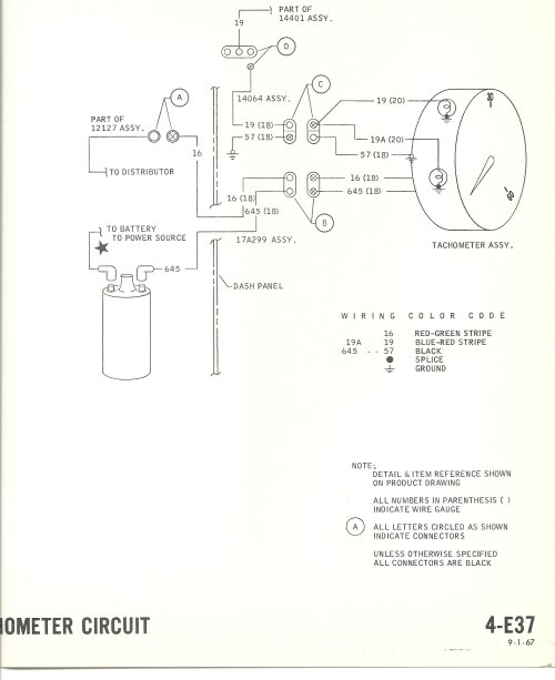 small resolution of electric tachometer wiring wiring diagram sheetwrg 2228 electric tachometer wiring diagram 1968 mustang wiring diagrams