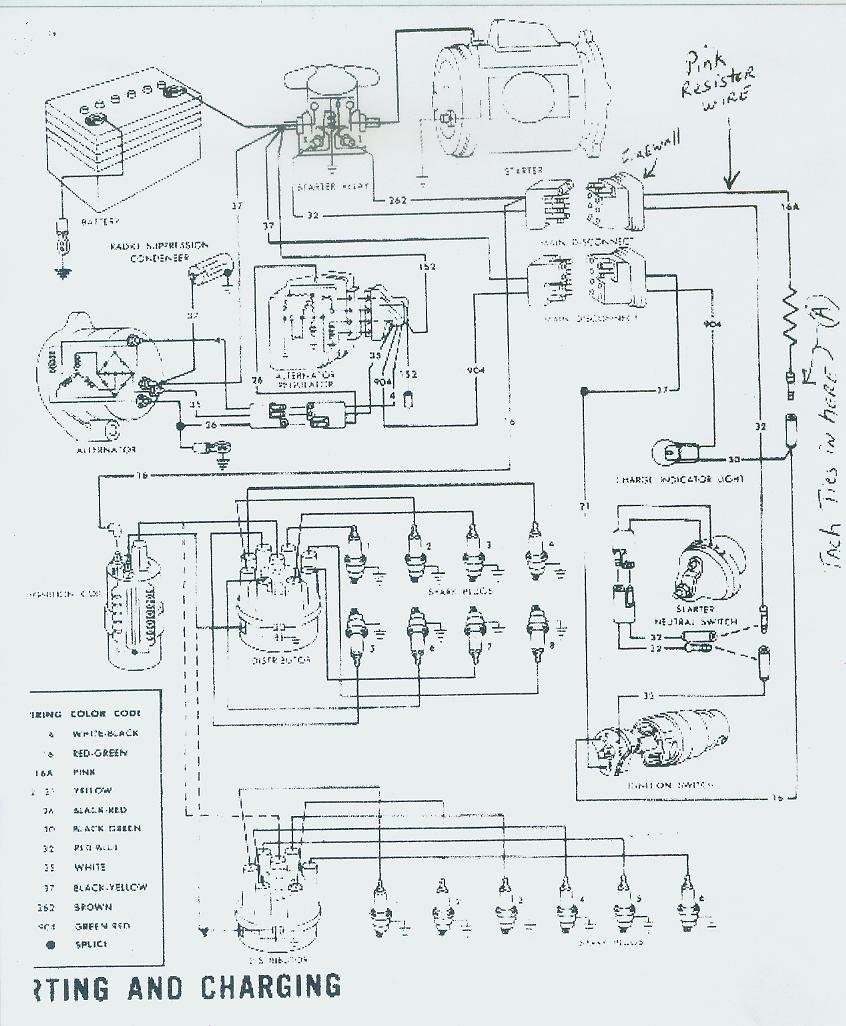 1970 Ford F100 Alternator Wiring Diagram. Ford. Wiring