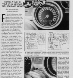 1968 mustang wiring diagrams with tach please help ford mustang forum sun tach wiring diagram [ 1087 x 1559 Pixel ]