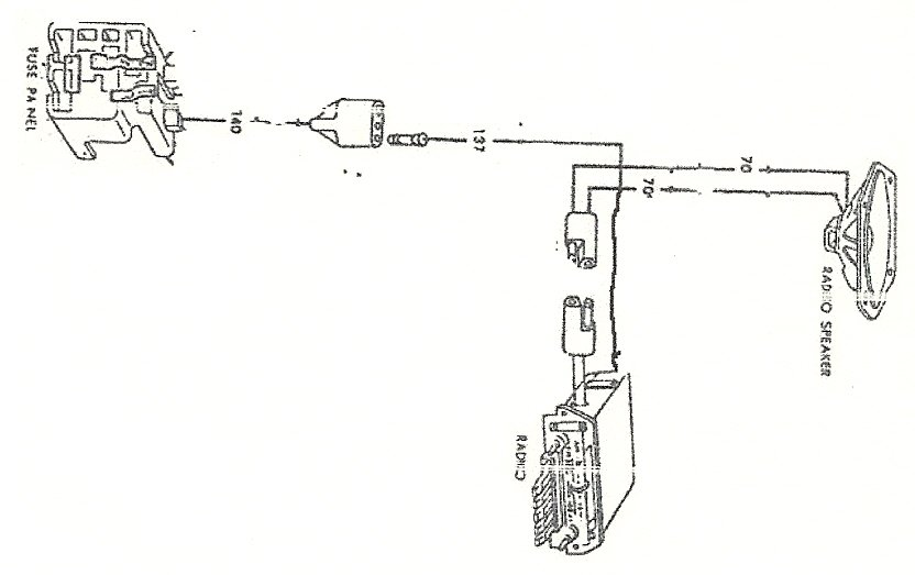 [DIAGRAM in Pictures Database] 1966 Mustang Radio Wiring