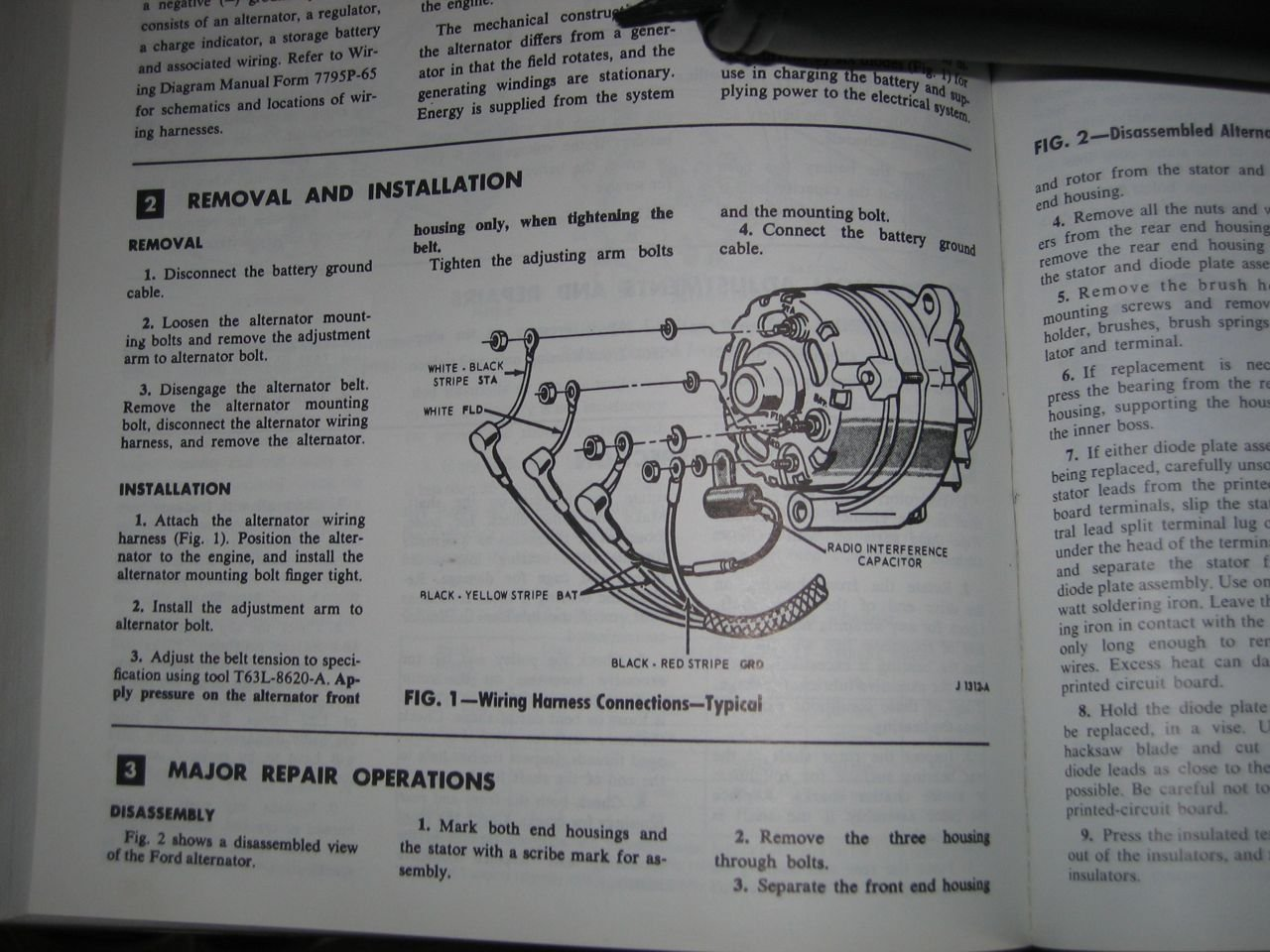 1966 Ford Thunderbird Alternator Wiring Diagram
