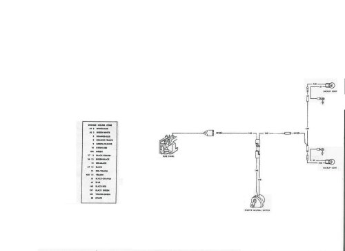 small resolution of 1968 ford f 250 reverse lights wiring diagram