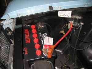 What size battery?  Ford Mustang Forum