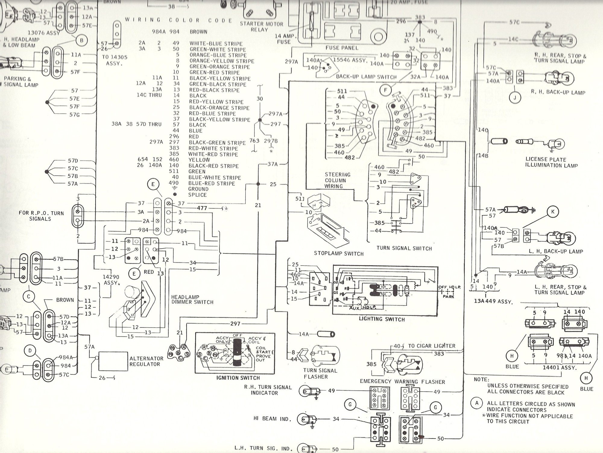 hight resolution of mustang hood turn signal wiring also 1966 ford mustang parts diagram 1967 ford mustang turn signal wiring diagram