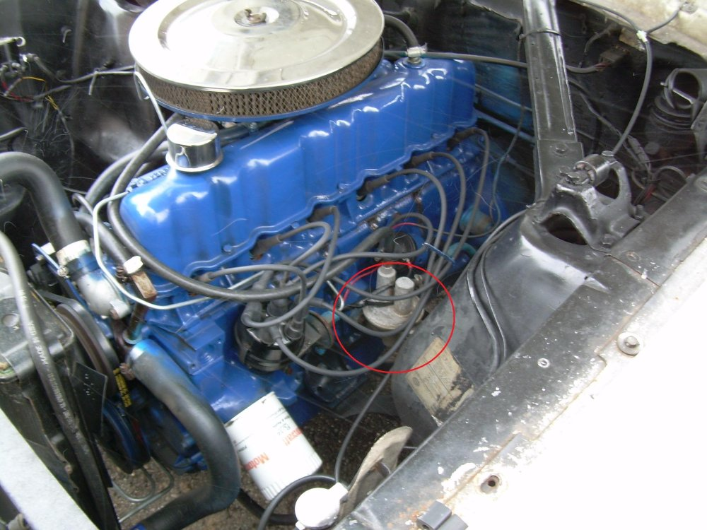 medium resolution of click image for larger version name pump jpg views 8575 size 432 5 fuel pump 1965 mustang