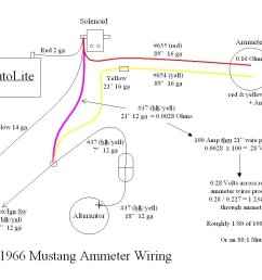 1966 mustang alternator wiring diagram [ 1167 x 829 Pixel ]