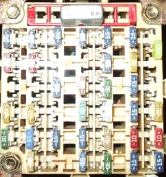 click image for larger version name fuse box before 2001 v6 mustang unusual  [ 1393 x 1500 Pixel ]