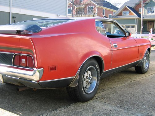 small resolution of  1973 mustang mach 1 t