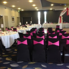 Black Chair Covers To Hire Body Solid Roman And Sashes All For Kids Party