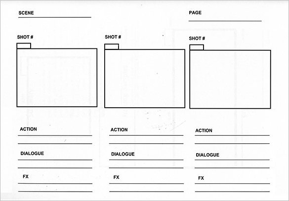 15+ examples of Storyboard templates, word, PPT, and PDF