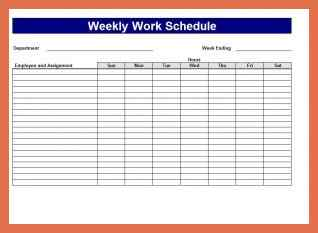 Project Schedule Templates-20+ formats, examples & guide – All Form ...