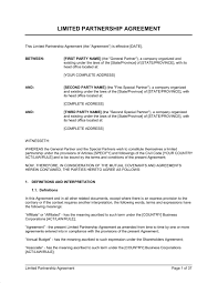 Partnership Agreement Templates And Tips Business Partnership - Lawyer partnership agreement template