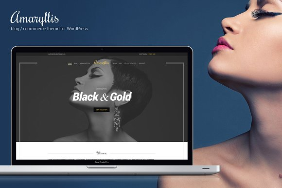 Amaryllis WordPress Theme