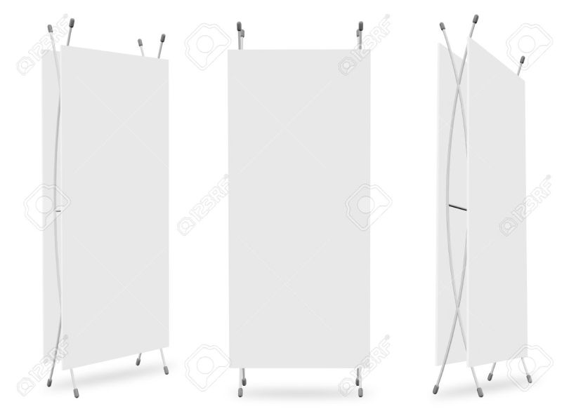 Stand Blank Banner Template