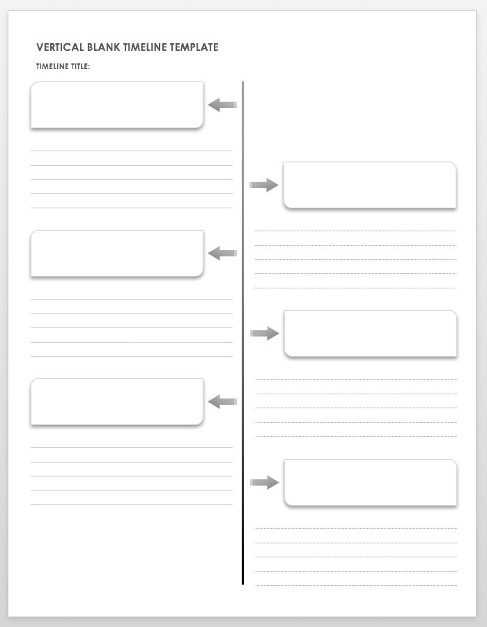 Timeline Templates 20+ Free Excel, Word, PDF, PSD Format – All ...