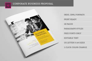 Suisee Style Business Proposal template