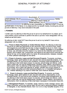 Microsoft power of attorney template