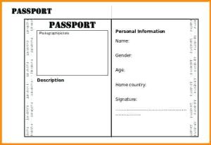 Passport templates blank abroad passport template all form templates passport templates maxwellsz