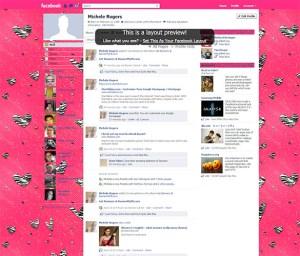 Animal print Facebook background template