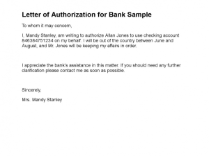 20 Authorization Letter Samples Templates Formats Examples