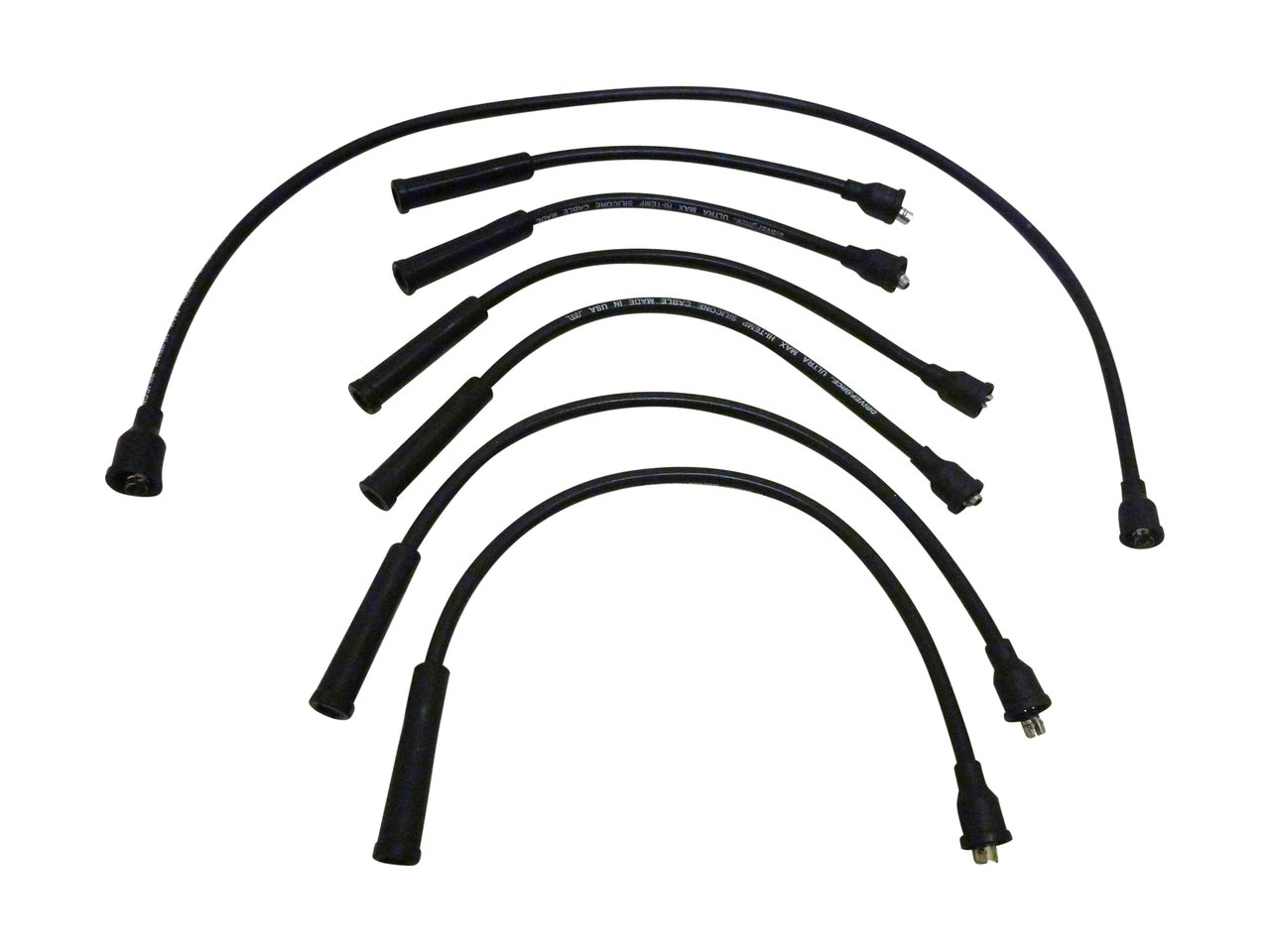 Spark Plug Lead Set suitable for Landcruiser 40 60 70 80 F