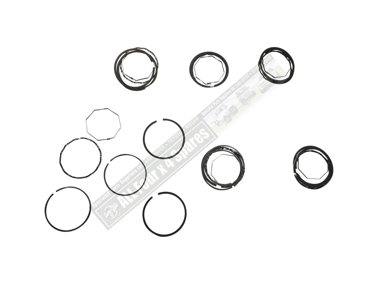 Piston Ring Set 40thou Oversize Land Rover