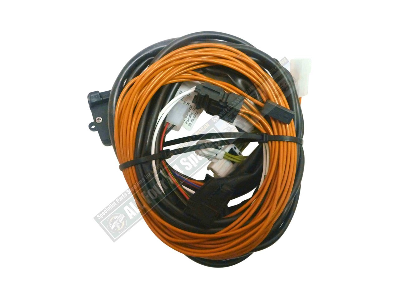 hight resolution of milford towbar wiring harness suits 2007 on nissan x trail suv