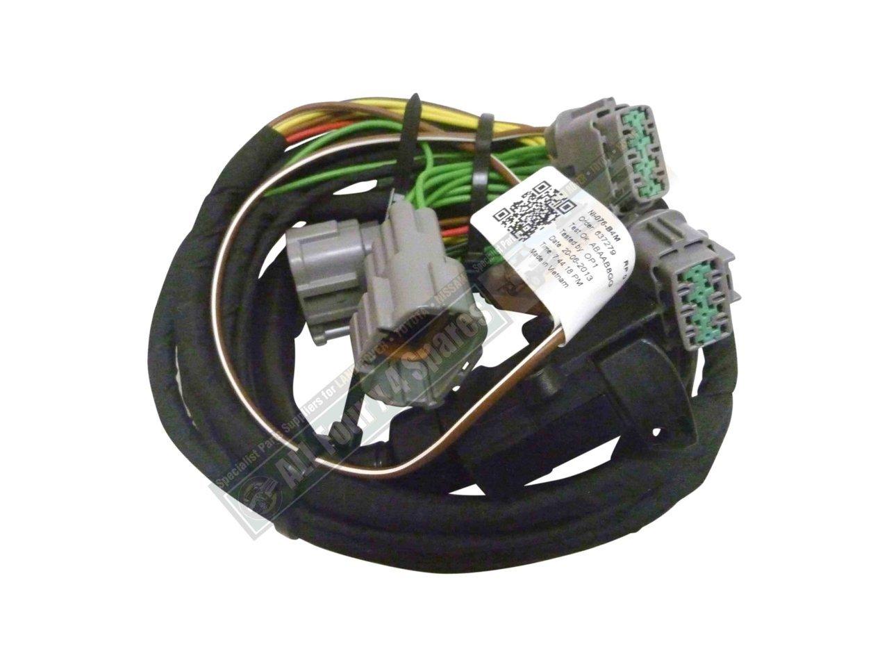 hight resolution of milford towbar wiring harness nissan navara d22 d40 2005 on nissan navara trailer wiring harness nissan navara towbar wiring harness
