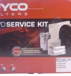 ryco filter service kit suitable for ford ranger pj pk diesel 12 2006 8  [ 1280 x 960 Pixel ]