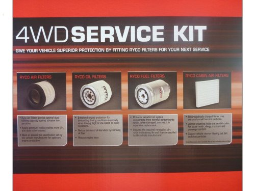 small resolution of  ryco filter service kit suitable for ford ranger pj pk diesel 12 2006 8