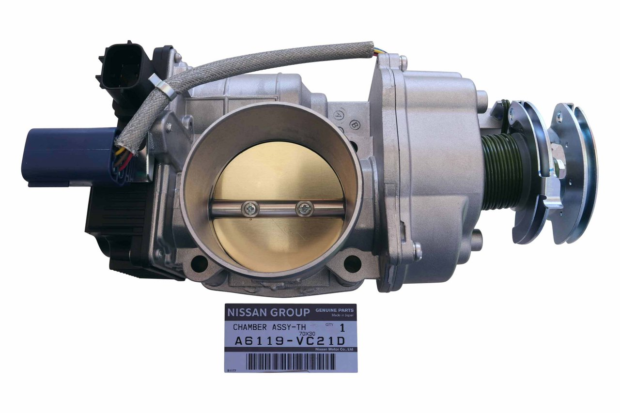 hight resolution of new throttle body suitable for gu patrol tb48 4 8 litre petrol efi auto genuine