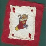 Christmas Stocking Handmade Card
