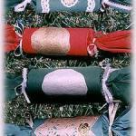 homemade Christmas crackers