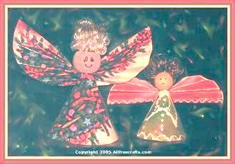 Recycled Greeting Card Angels All Free Crafts
