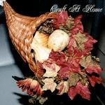 Fall Leaves Cornucopia