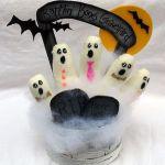 knit glove ghosts