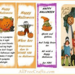 printable Halloween bookmarks