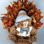 Sammy Scarecrow Wreath