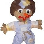 Yarn Doll Scarecrow