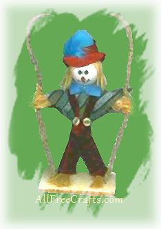 swing scarecrow