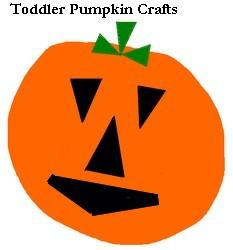toddler pumpkin art