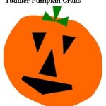 toddler pumpkin art