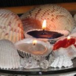 Seashell Candles