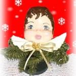 plaster of paris doll face