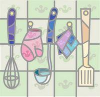 hanging kitchen tools