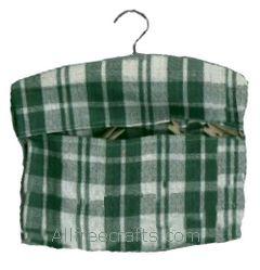 tea towel peg bag