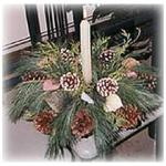 Fresh Pine Centerpiece