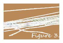 tying yarn on cardboard