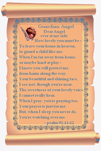 angel psalm scroll