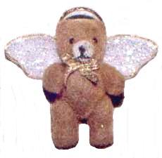 tiny teddy bear angel